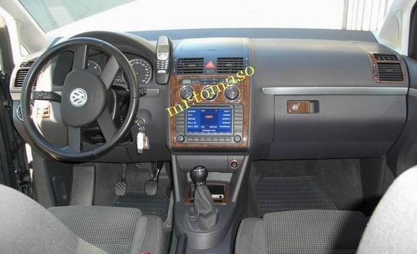 Vw touran 03 08 innenraum dekorsatz cockpit dekors ebay for Innenraum designer programm